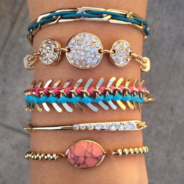 jewels jewelry fashion girly girl pulseira braço