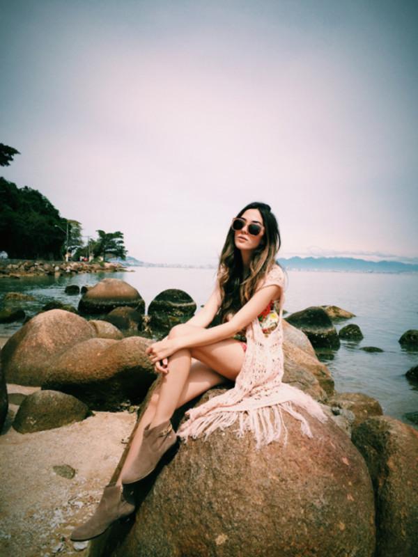 fashion coolture blogger jacket sunglasses