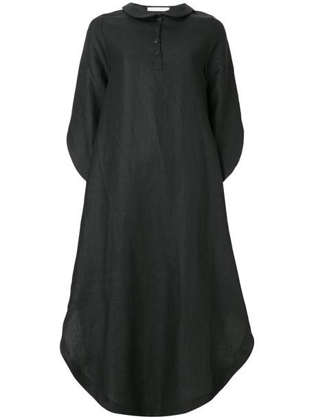 dress wings women black
