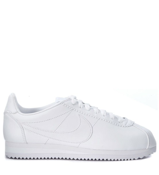 Nike classic leather white shoes
