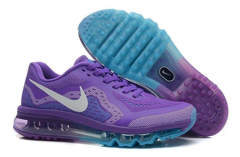 new style c0cc2 d9751 NEW! Women s Nike Air Max 2014 Lt Purple Moon Blue  Hyper Grape ...