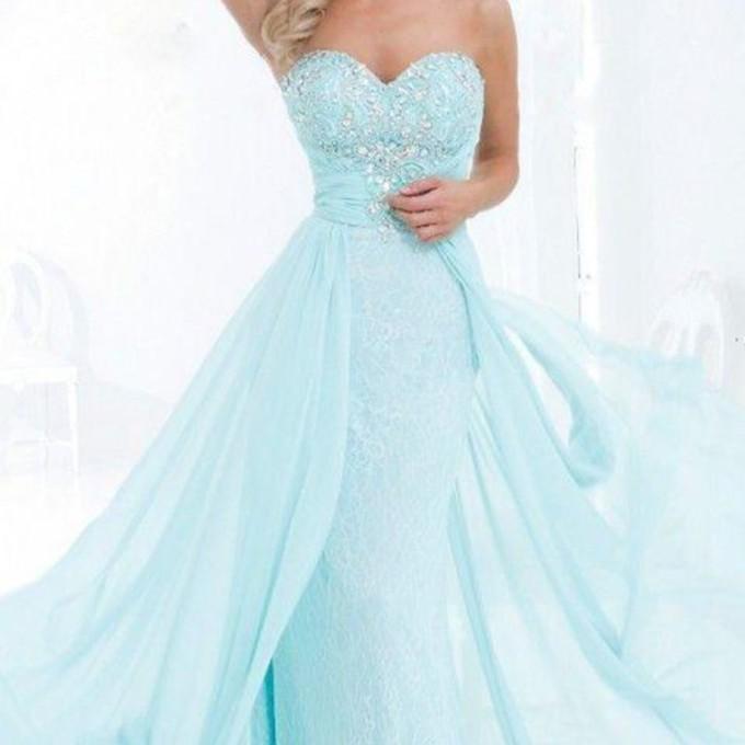 Sky Blue Prom Dresses 23