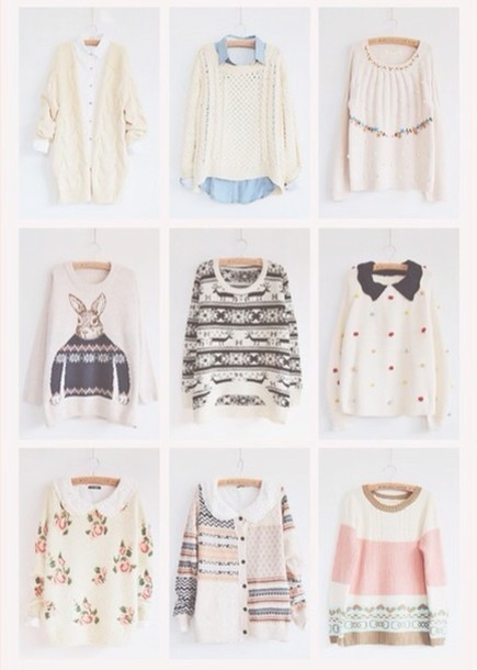 Sweater: cute, shirt, shirt, blouse, blouse, pretty, girly, pink ...