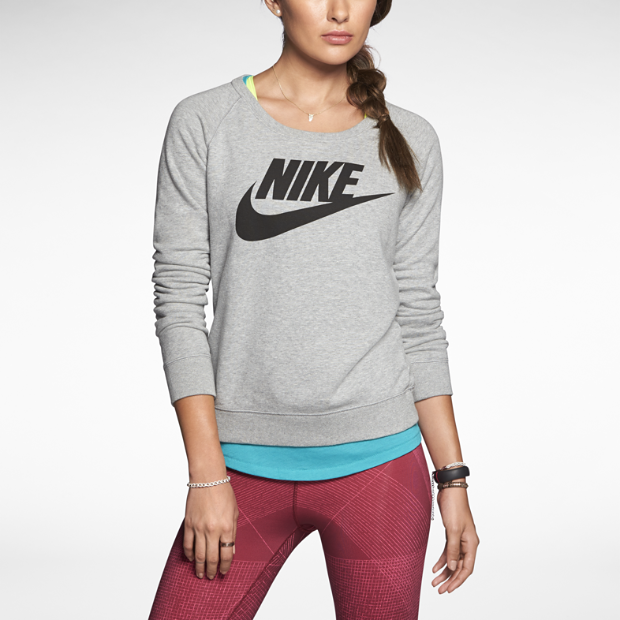 The Nike Rally Crew Women's Sweatshirt.