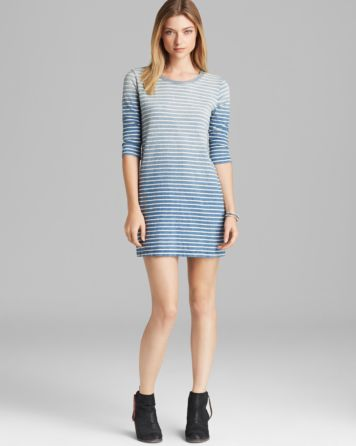 Current/Elliott Dress - The Three Quarter Sleeve Tee Dress | Bloomingdale's