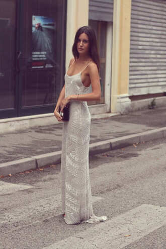 dress long prom dress gown