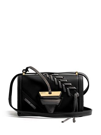 cross bag leather black