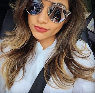 sunglasses bikini luxe silver metallic metallic sunglasses silver metallic