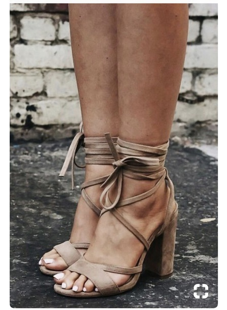 shoes nude heel heels scrappy