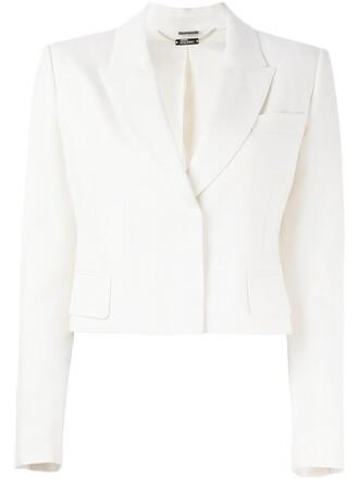jacket cropped jacket cropped nude