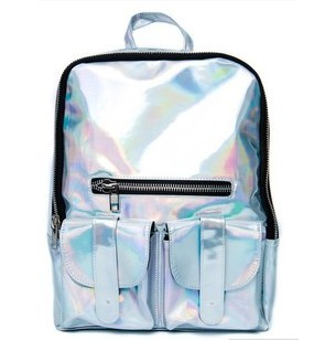 Promotion!!!2014  Hologram Backpack Hologram Shoulder Message Bag  Daily Backpack Street Bag  Free Shipping -in Backpacks from Luggage & Bags on Aliexpress.com