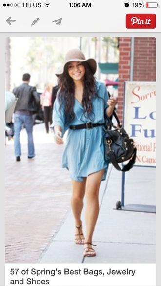 dress shirt dress boho