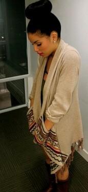 navajo,sweater,aztec,oversized sweater,shirt,jacket