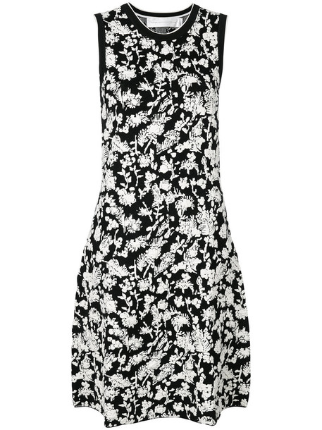 Victoria Victoria Beckham dress women spandex floral cotton black