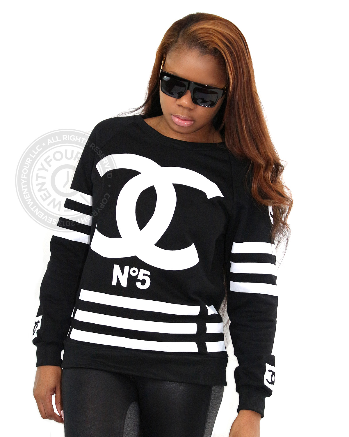 Chanel Inspired No 5 Coco Sweatshirt Women S Urban