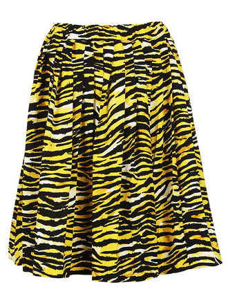 skirt pleated skirt pleated tiger tiger print print