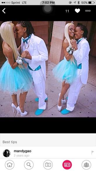 dress light blue prom dress diamonds diamond dress blue dress prom dress short prom dress