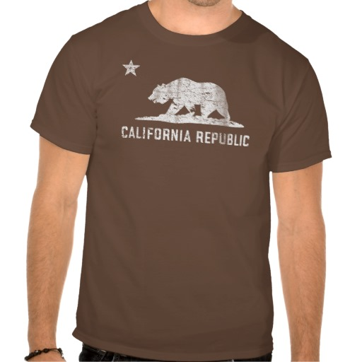 Vintage California Republic T Shirts from Zazzle.com