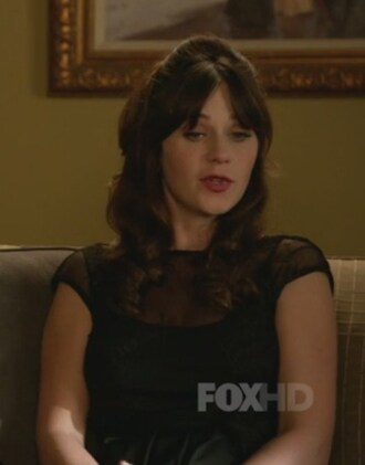 dress lace embroided new girl zooey deschanel jessica day cropped pea coat coat