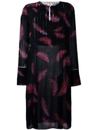 dress print dress print black