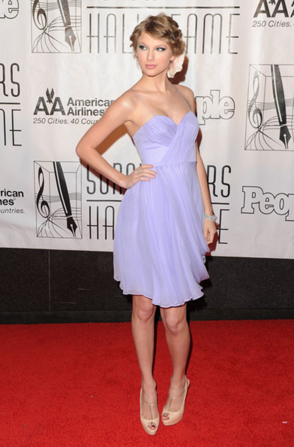 taylor swift lavender dress