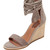 Jeffrey Campbell Formosa Wedges - Taupe