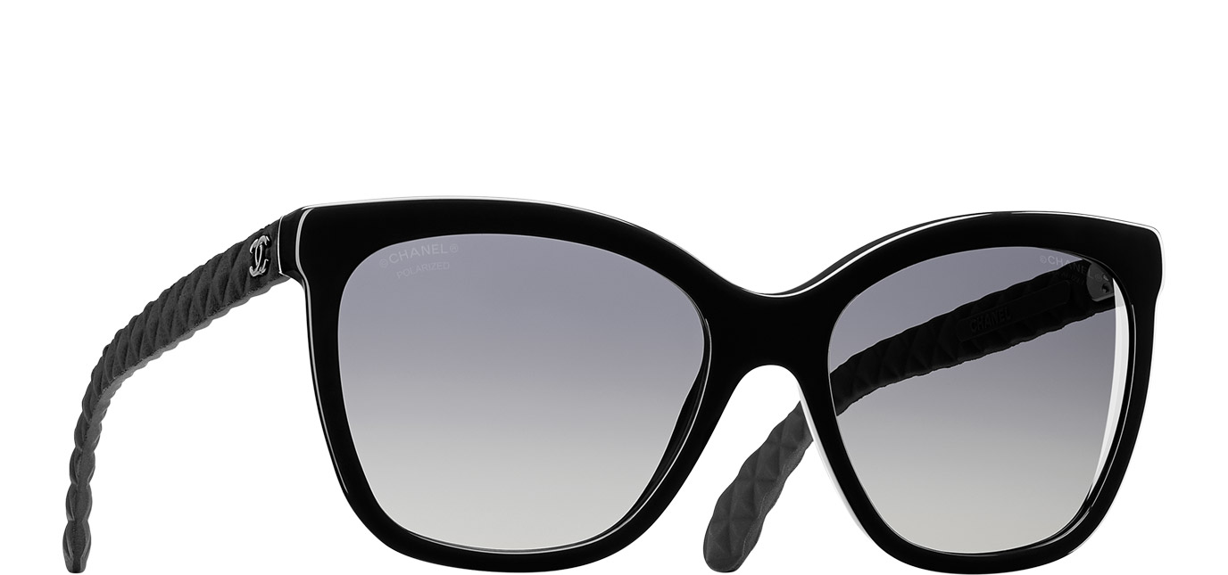Sunglasses Black Butterfly Quilting | Online Boutique : chanel quilted sunglasses - Adamdwight.com