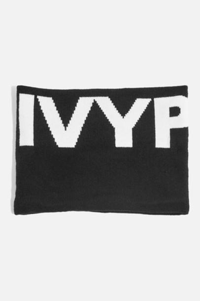 Topshop scarf black