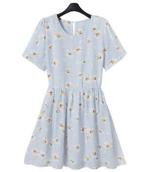 dress kawaii daisy cute summer