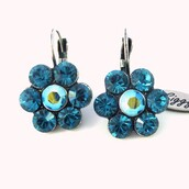 jewels,siggy,swarovski,blue,indigo,daisyearrings,swarovski earrings,shopping,fashionista,shopoholic,shoponline,crystal earrings,fabulous,fashion,gifts for her