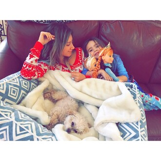 pajamas christmas ashley tisdale