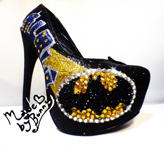 shoes batman heels