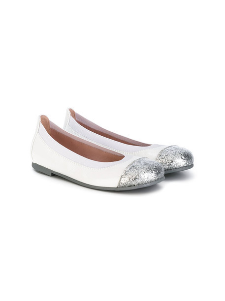 Pretty Ballerinas Kids leather white shoes