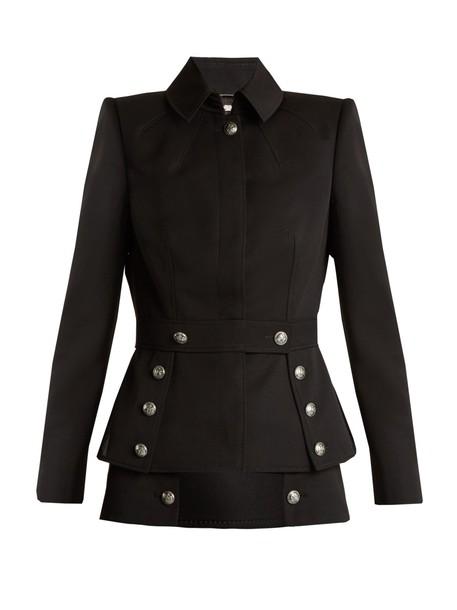 Alexander Mcqueen jacket black