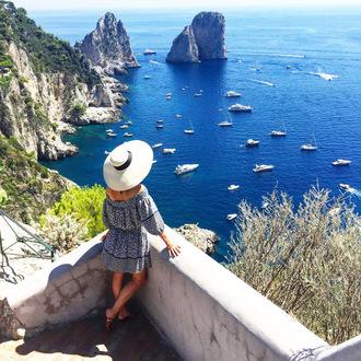 atlantic pacific blogger dress hat shoes pants top bag jewels swimwear
