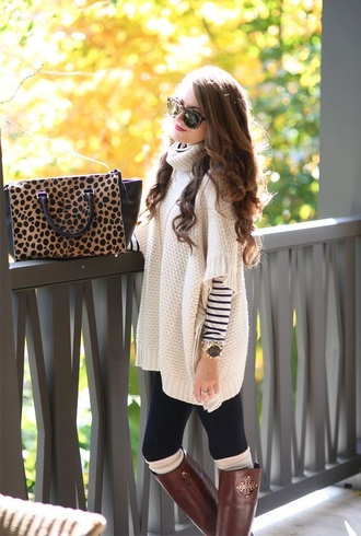 nude sweater fall outfits winter outfits oversized sweater white comfy winter sweater winter coat sweater sunglasses beige blouse cardigan cream cable knit cream sweater southern curls and pearls blogger shoes bag jewels top pants hat leggings scarf jeans jacket dress boots clothes knitted sweater turtleneck sweater