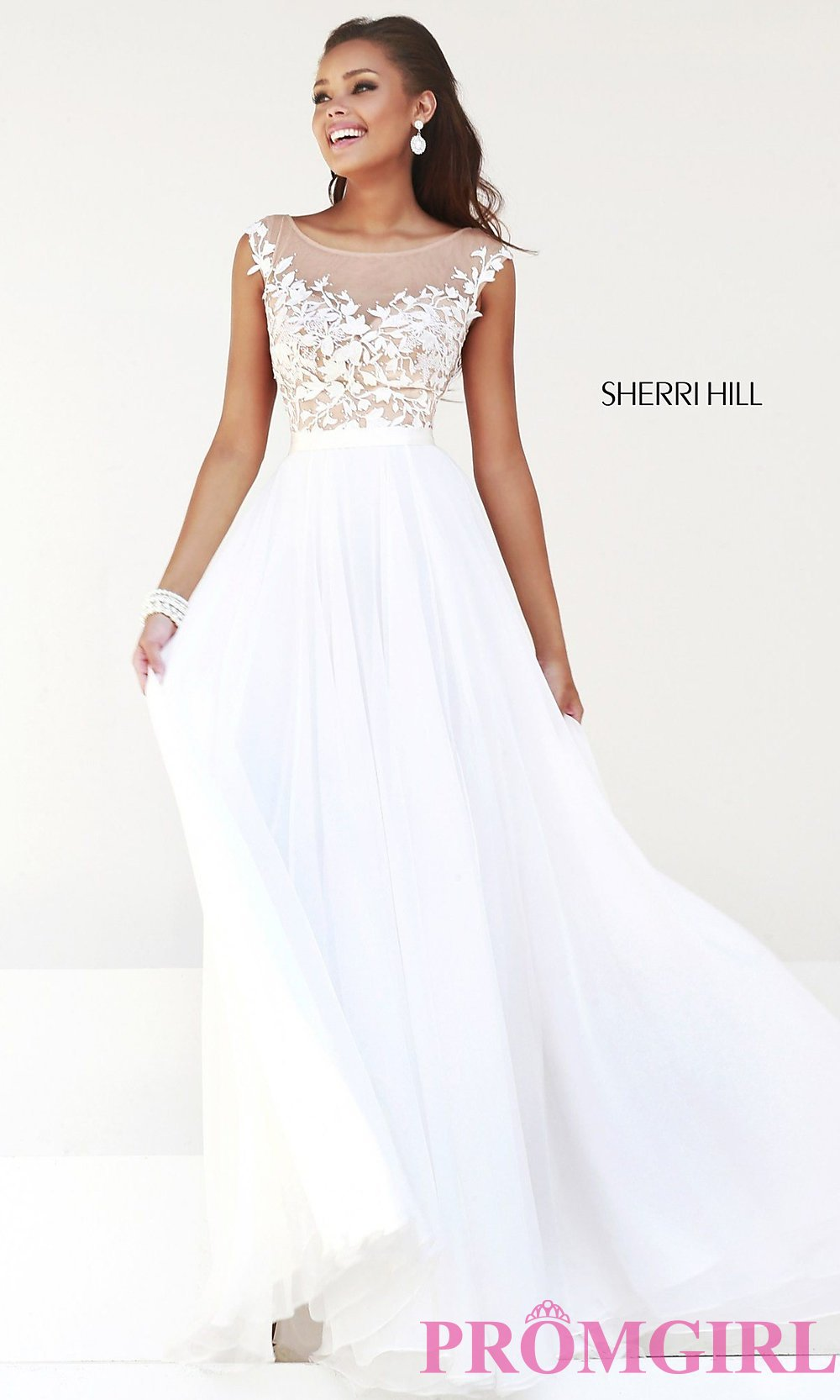 Sherri hill designer evening gown