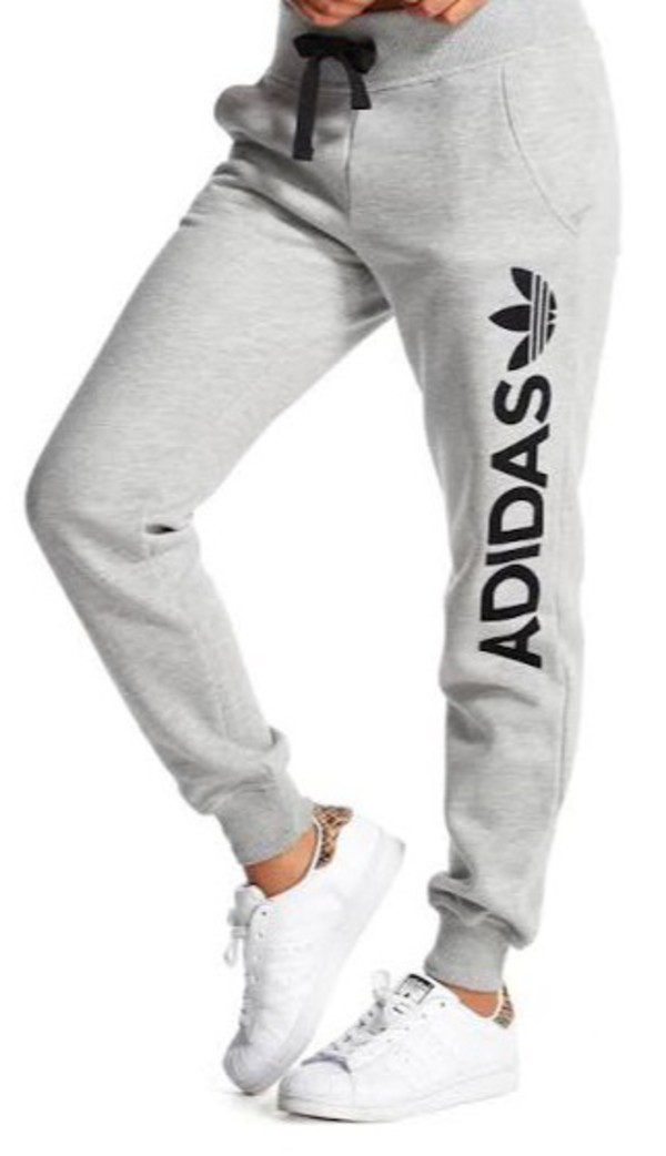 Innovative Adidas Trefoil Pique Cuff Grey Jogger Sweatpants | Zumiez