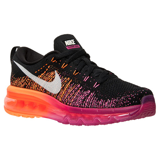 Nike Flyknit Air Max Vivid blue Atomic orange