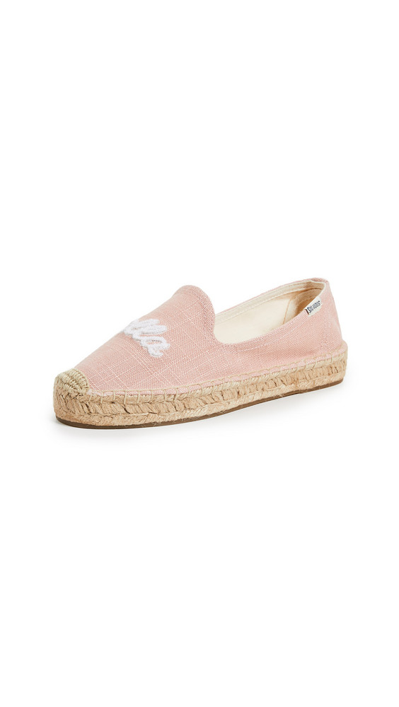 Soludos Ciao Bella Smoking Slippers in rose