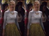 skirt,crop tops,crop,jaime king,hart of dixie,top,necklace,jewels