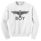 Boy london eagle white sweatshirt - basic tees shop