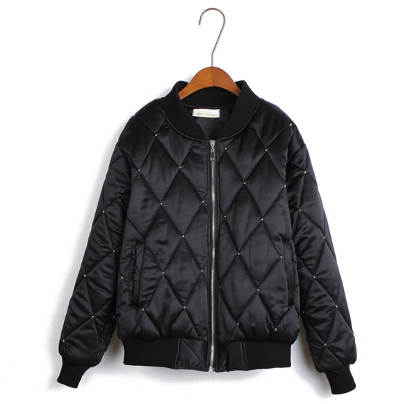 The quilted chester jacket