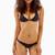Frankies Bikinis - Bella Top | Black Macrame Triangle Bikini Top
