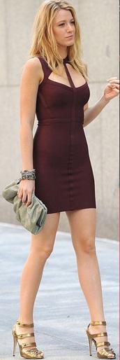 dress,red dress,serena van der woodsen dress