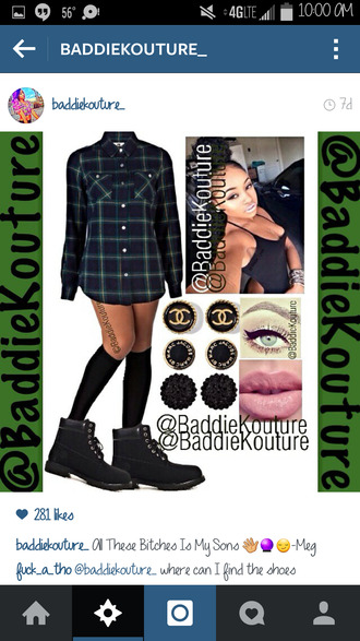 timberlands outfit outfit idea baddiekouture_