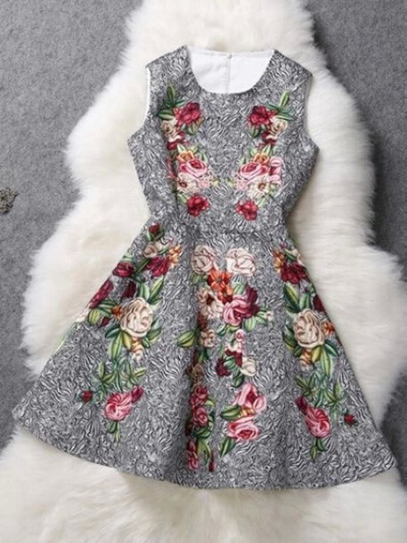 dress cute girly floral