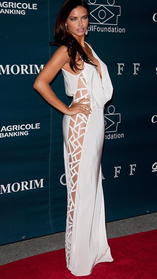 dress adriana lima