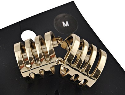 Excellent quality!!! armor knuckle ring for women  gold  free shipping r150