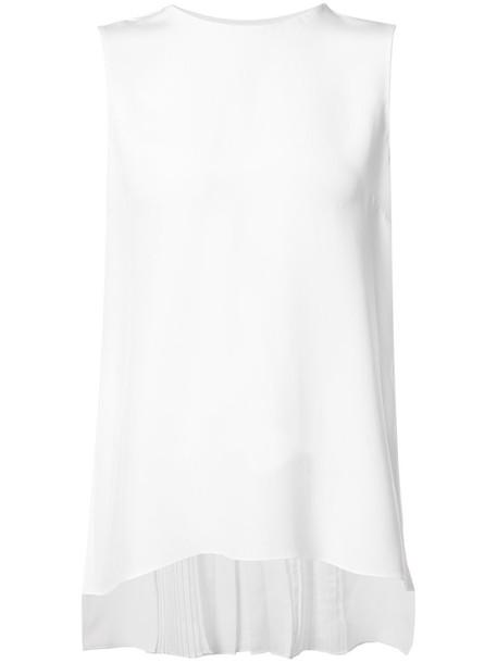 Adam Lippes top vest top women fit white